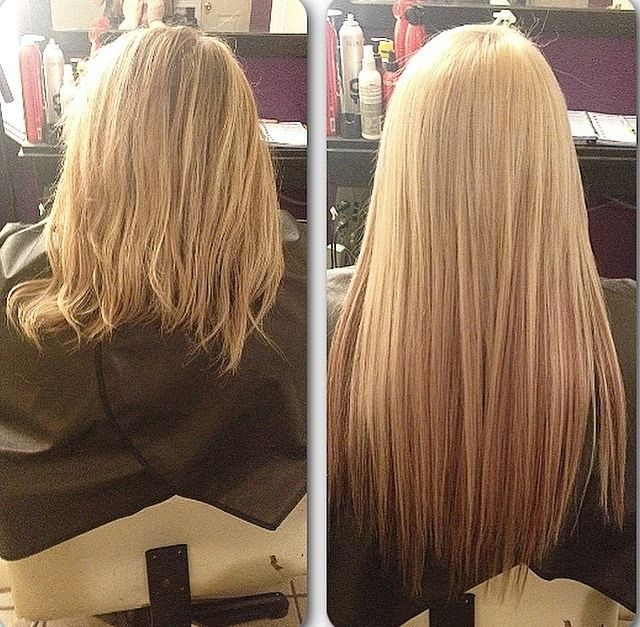 Beautiful longer, fuller hair